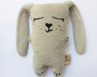 Cuddly plush rabbit Awakening (several colors and with or without sound)