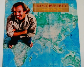 """Jimmy Buffett - Somewhere Over China - """"On a Slow Boat to China"""" - Gulf Rock - Vintage Vinyl LP Record Album"""