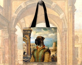 Dog Tote Bag - Great Dane Tote Bag - Great Dane Art - Great Dane   Perfect DOG LOVER Gift for Her Gift for Him