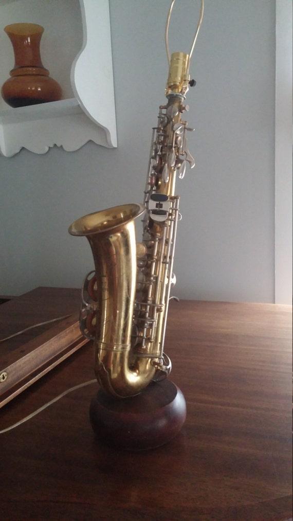 Saxophone Lamp