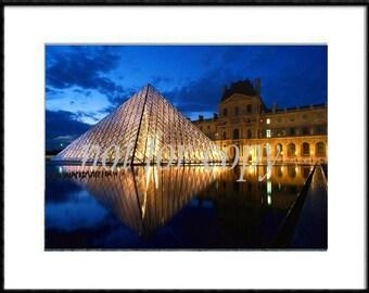 Louve, Paris, France  Original Art Photo By Artist..5X7