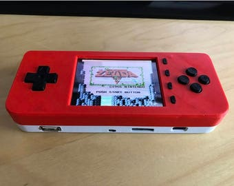 PiGRRL ZERO PLUS Raspberry Pi Game Console by adafruit--Case and Buttons only. Game console, Project case kit, DIY, gift for him