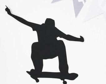 skater paper 210gr decor - black