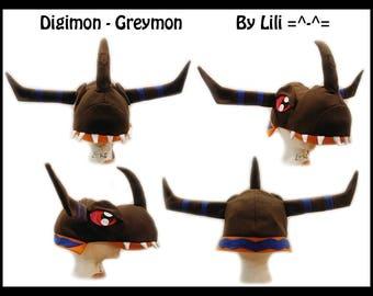 Digimon Hat - Greymon