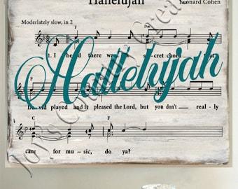 Hallelujah , Music, Leonard Cohen