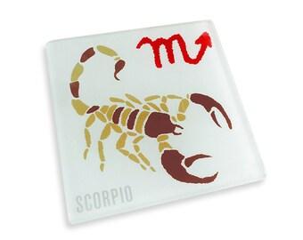 Set of 4 Scorpio Coasters