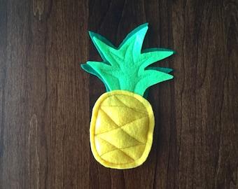 Pineapple Catnip Cat Toy - Tropical Fruit Cat Nip Kitty Toys - Aloha