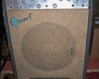 Lowest Price Ever!  Vintage Working 1960's Sound Electronics Corp. X305 Tube guitar Amp
