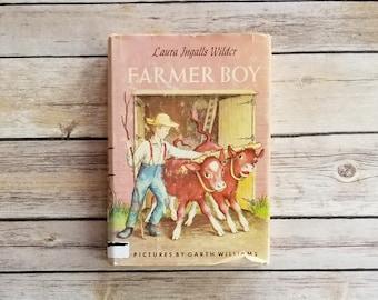 Farmer Boy Laura Ingalls Wilder Little House Series Life American Frontier Almanzo Wilder Farm Life Of A Farmer Country Book Farm Theme Kids