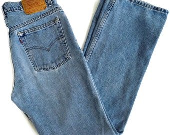 90's Levi's 517 Jeans Bootleg Distressed 32 X 32