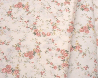 """a beautiful cut of cotton fabric """"Crown of roses"""""""