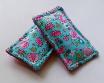 Reusable sponge,unsponges, bugs, ladybugs, ecofriendly sponge, kids bath sponge