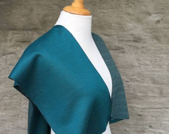 Unique handmade shawlcape/ shawl/ cape/ vest; turquoise; for her; accessory