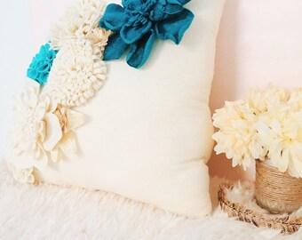 3-D Flower Pillow