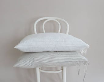 Stripe Linen Pillowcase