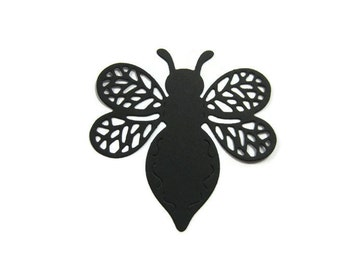 Large Detailed Bee Die Cut set of 20