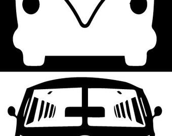 Volkswagen VW Bus Sticker Decal