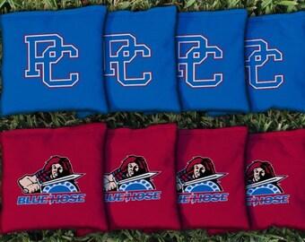 Presbyterian College Blue Hose Cornhole Bag Set