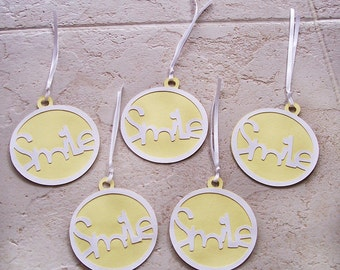 Smile Gift Tags (mixed-sizes)