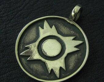 Bronze Sith pendant