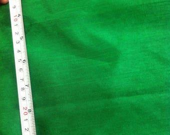 Dupioni Art silk Fabric: Green Silk Fabric, Indian Silk Fabric, Silk Fabric By The Yard, Green Dupioni Fabric, Indian Fabric, Dupioni Fabric