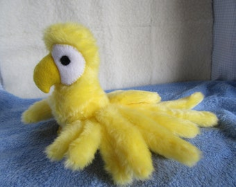 Macaw Special Price Parrot Miniature Stuffed Bird Pattern to Sew