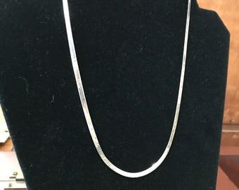 Marked Sterling 16 inch Chain