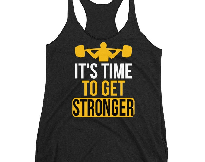 Workout Tank Top | Fitness Women's Racerback Tank | Gym Tank Top, Fitness Tank | Exercise Tank Top | Burnout tank top | Workout tops