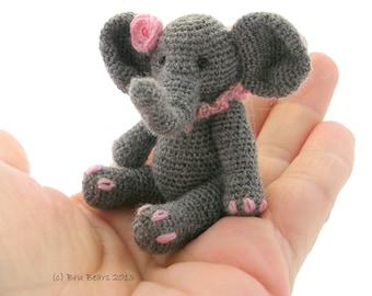 Ellie Elephant crochet pattern