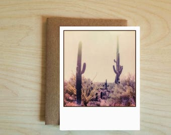 Saguaro Cactus Card. Nature Cards. Any Occasion. Greeting Cards.