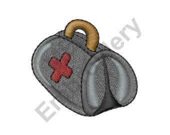 Doctor's Bag - Machine Embroidery Design