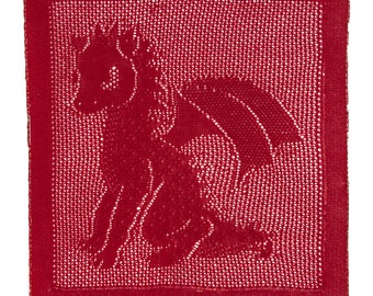 Baby Dragon Blanket Pattern (PDF)