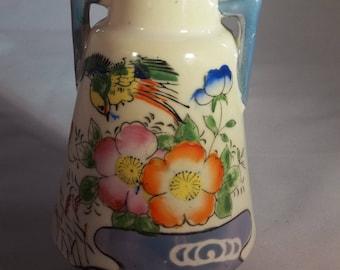 Japanese lusterware vase