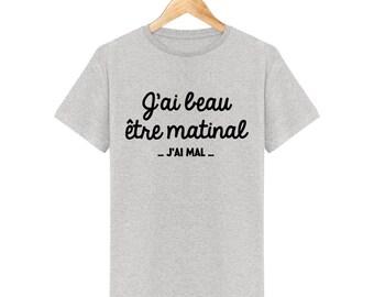 Early morning T-Shirt I'm hurt for men