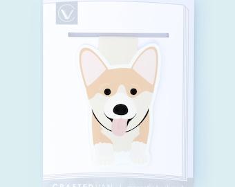 Corgi Dog Magnetic Bookmark (Jumbo)