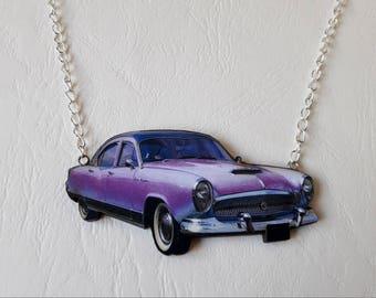 Necklace car qualité - vintage pinup rockabilly vintage convertible