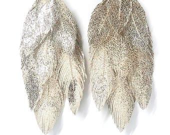Bohemian Earrings, Festival Earrings, Feather Earring, Boho, Boho Bride, Hippie, Gypsy, Bridal Earrings, Boho style, Cochella, Bohemia