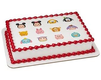 Tsum Tsum Totes Adorbs Edible Cake Cupcake Topper