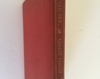 Vintage 1913  Poems by Gerald Gould