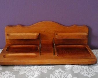Vintage Himark Men's Valet Shelf