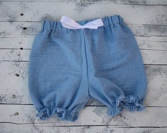 Girls summer shorts choose your fabric perfect for summer shorts,bloomers