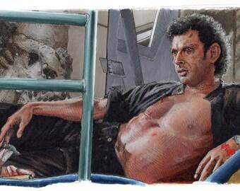Jurassic Park - So You Two Dig Up Dinosaur Bones?   Poster Print