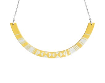 HALO Necklace Yellow
