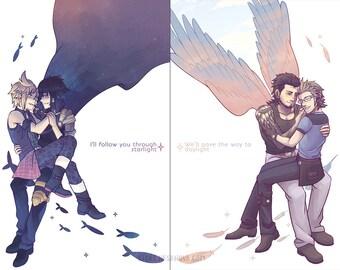 Starlight & Daylight FFXV Posters