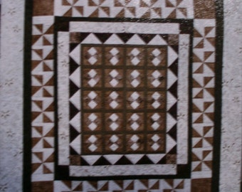 "Lilly Hill Creations Quilt Pattern Harmony Size 78"" x 85"""