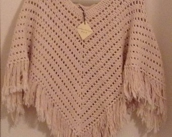 Woman's classic poncho
