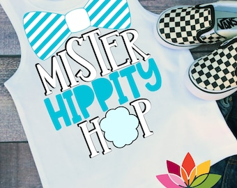 Easter svg, Bunny svg, Kids easter svg, Mister Hippity Hop svg, Cotton Tail svg, Boys easter shirt, Bow Tie, First, cut file Cameo, Cricut