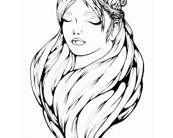 Art Print 'Sleeping Nature'