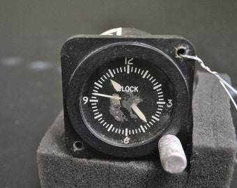 Cessna Aircraft Airplane Vintage Clock (Not Working)