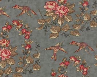 Moda At Home by Blackbird Design  1 yard  Cotton Fabric Chambray Apron 2790-13